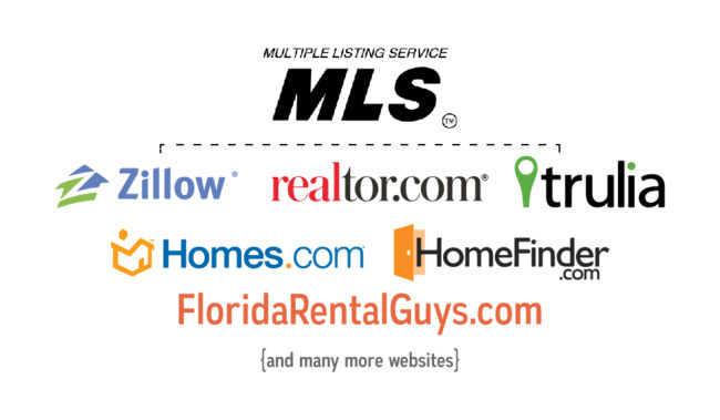 Flat Fee MLS Listing Infographic